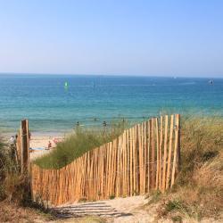 Accès à la plage de Porsmeur